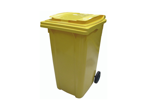 Gele container EcoWerf